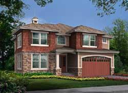 Hampton Style House Plans Plan: 88-612