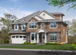 Hampton Style House Plans Plan: 88-614