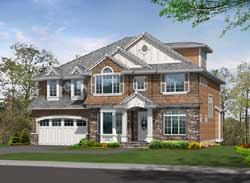 Hampton Style Floor Plans Plan: 88-614