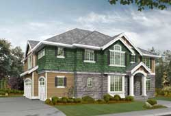 Hampton Style Floor Plans Plan: 88-621