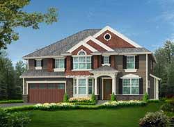Hampton Style House Plans Plan: 88-631