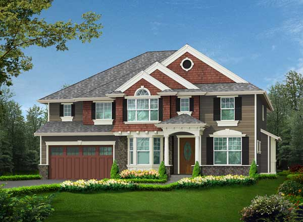 Hampton Style House Plans Plan: 88-632