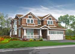 Craftsman Style Floor Plans Plan: 88-637