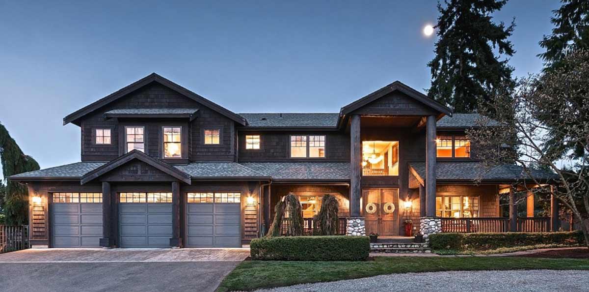 Northwest Style House Plans Plan: 88-642