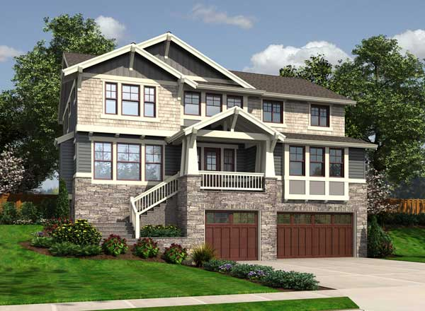 Craftsman Style Floor Plans Plan: 88-643