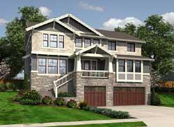 Craftsman Style House Plans Plan: 88-643