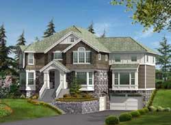 Hampton Style Floor Plans Plan: 88-652
