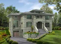 European Style House Plans Plan: 88-654