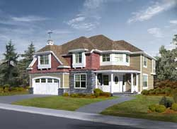 Hampton Style Floor Plans Plan: 88-656