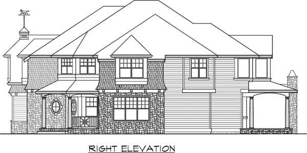 Hampton Style Home Design