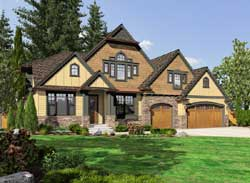 Shingle Style House Plans Plan: 88-662