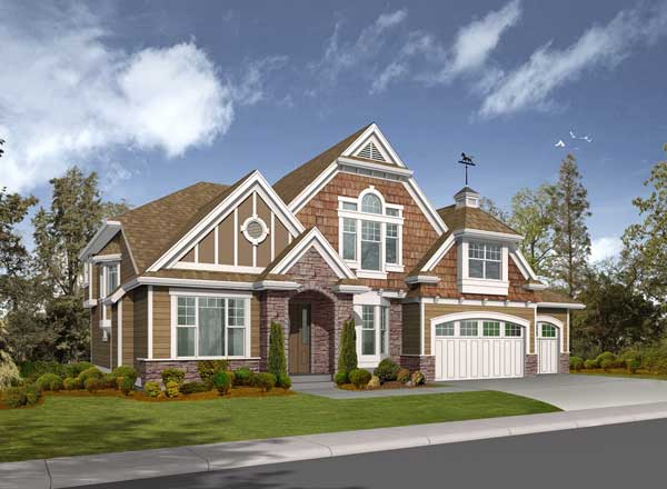 Hampton Style Floor Plans Plan: 88-665