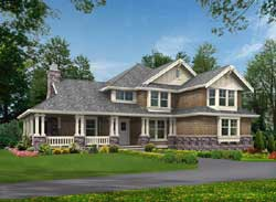 Craftsman Style House Plans Plan: 88-671