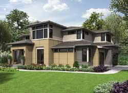 Modern Style Floor Plans Plan: 88-676