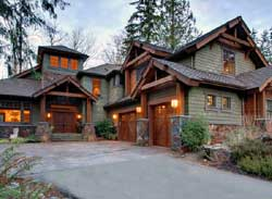 Mountain-or-Rustic Style House Plans Plan: 88-684