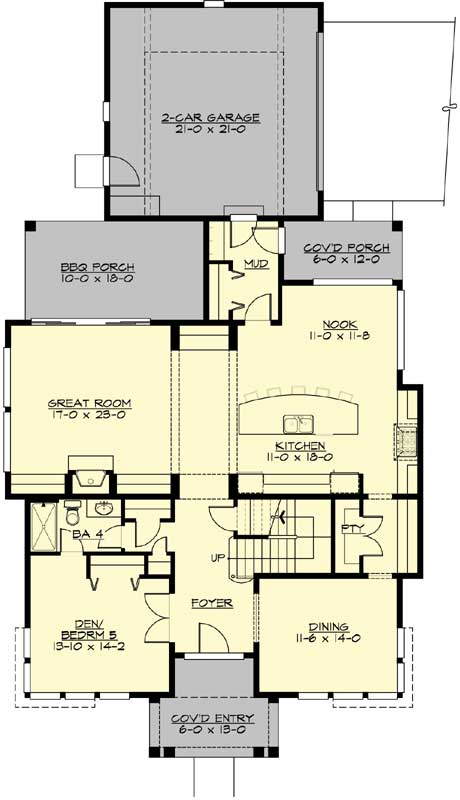Main Floor Plan: 88-690