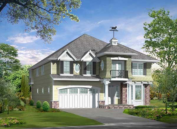 Hampton Style House Plans Plan: 88-699