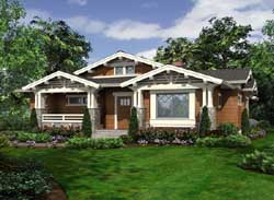 Craftsman Style Floor Plans Plan: 88-903