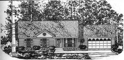 Traditional Style House Plans Plan: 9-110