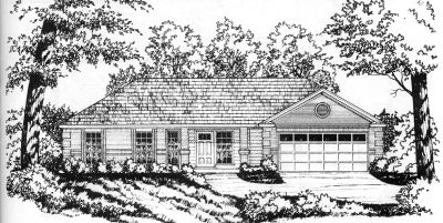 Country Style House Plans Plan: 9-114