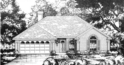 Traditional Style House Plans Plan: 9-118