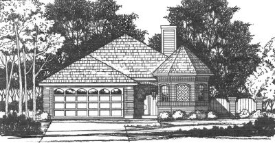Traditional Style House Plans Plan: 9-121