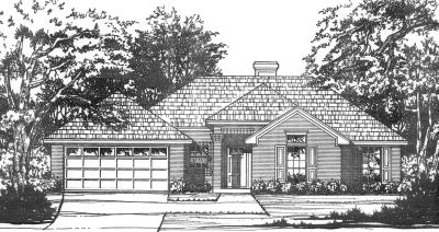 Traditional Style House Plans Plan: 9-122