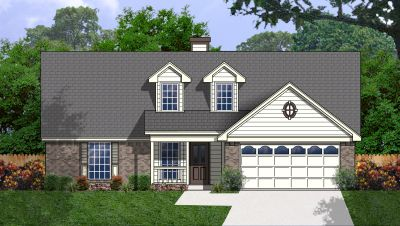 Country Style Home Design Plan: 9-124