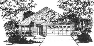 Traditional Style Floor Plans Plan: 9-127