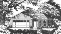 Traditional Style Home Design Plan: 9-129
