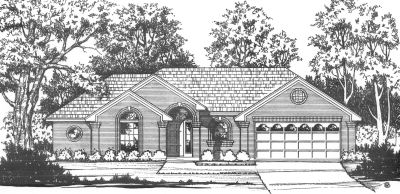 Traditional Style House Plans Plan: 9-132