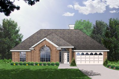 Traditional Style Home Design Plan: 9-133