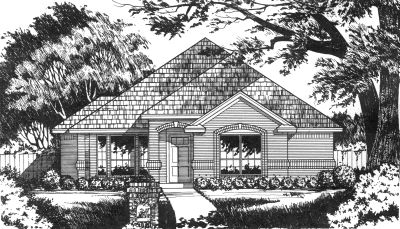 Traditional Style House Plans Plan: 9-139
