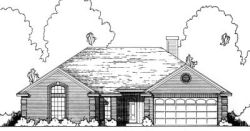 Traditional Style Home Design Plan: 9-142