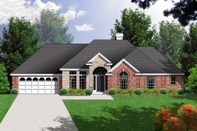 Traditional Style House Plans Plan: 9-146