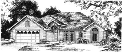 Traditional Style Floor Plans Plan: 9-147