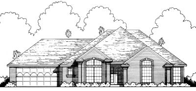 Traditional Style Floor Plans Plan: 9-150