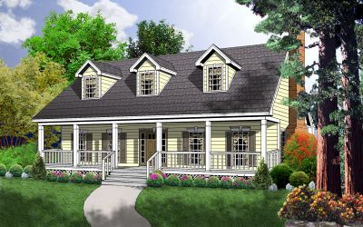 Farm Style Floor Plans Plan: 9-151