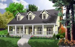 Farm Style House Plans 9-151