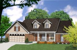 Country Style Floor Plans 9-154