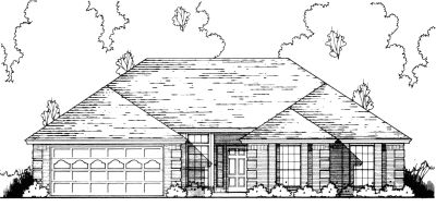 Traditional Style Home Design Plan: 9-156