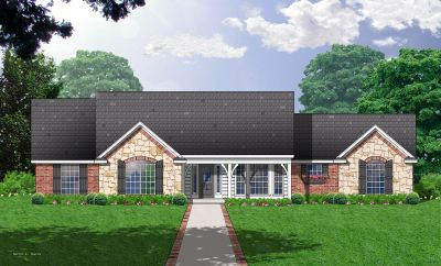 Country Style Floor Plans Plan: 9-160
