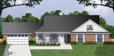 Ranch Style House Plans Plan: 9-165