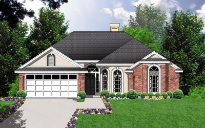 Traditional Style Floor Plans Plan: 9-166