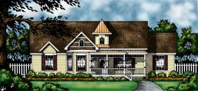 Country Style House Plans Plan: 9-167