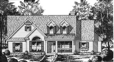 Country Style House Plans Plan: 9-175
