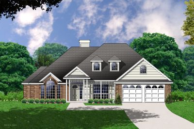 Traditional Style Home Design Plan: 9-178