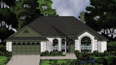 European Style Floor Plans Plan: 9-182