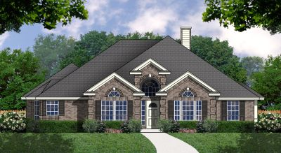 Traditional Style Home Design Plan: 9-183
