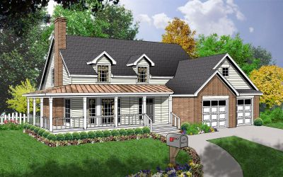 Country Style Floor Plans 9-184